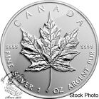 Canada 2014 $5 Maple Leaf Reverse Bullion Rep Silver Proof Coin LOW MINTAGE!