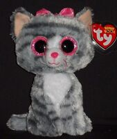 """TY BEANIE BOOS BOO'S - KIKI the 6"""" CAT - MINT with MINT TAGS"""