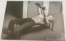 MARILYN MONROE VINTAGE PRINT LIFTING WEIGHS 18X24 ICONIC POSTER SALE