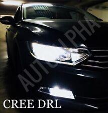 VW PASSAT B7 DRL LED XENON BRIGHT WHITE DAYTIME RUNNING LIGHT BULBS UPGRADE