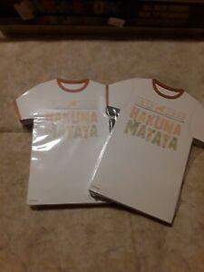 Disney Parks Hakuna Matata Lion King Club T Shirt Notepad Magnet 100 Sheets NEW