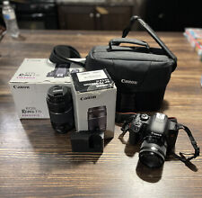 Canon EOS Rebel T7i / EOS 800D 24.2MP Digital SLR Camera - Black (Kit w/ EF-S...
