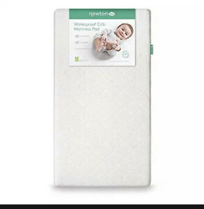 Newton Baby Waterproof Crib Mattress Pad Protector | 100% Breathable Proven to