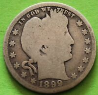 USA QUARTER DOLLAR 1899