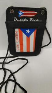 ID Badge Canvas Card Holder Vertical Neck Strap Lanyard Necklace Case