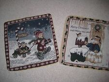 Winter Scene Tapestry Pillow Covers