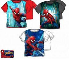 Spiderman Jungen T-Shirt Shirt Kurzarm  98 104 116 128