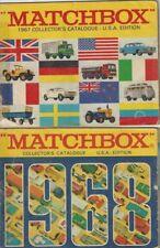 1967 and 1968 Matchbox Catalogue's