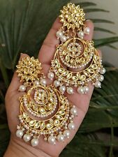 Bollywood Indian Traditional Ethnic Jhumka Jumki Hoop Dangle Chandbali Earring