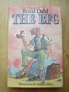 The BFG Roald Dahl Quentin Blake 1st Edition 1st Print Hardback DJ 1982 1/1