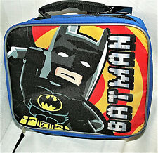 Batman Lego Movie Soft Lunch Cold Carry All Bag New 2020