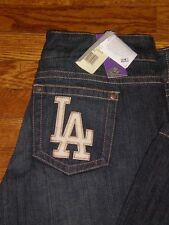 NEW Los Angeles Dodgers Women's Touch Denim Jeans  by Alyssa Milano sz:25