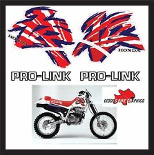 HONDA XR600 TANK DECALS WITH PROLINK