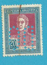 ARGENTINA 1923 YVERT&TELLIER 295 (º) USADO