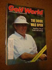 October 24, 1986 old vintage Golf World magazine