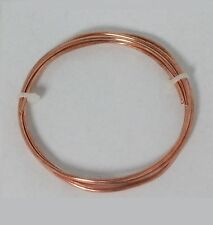 14 Ga Copper Jewelry & Craft Wire (16.5 Ft. Coil / 3 Oz)  SOFT Pure Copper