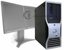 Dell Precision 490 Quad Core Intel Xeon CPU 2.33GHz 2GB 80GB Computer
