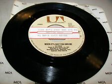 Dottie West When It's Just You and Me / We Love Each Other 45 VG+ Juke Box