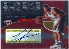 2004-05 TOPPS CHROME NBA RC AUTOGRAPH AUTO: JOSH SMITH