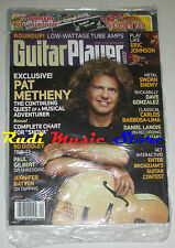 GUITAR PLAYER Magazine SEALED Sett 2008 Pat Metheny Sworn Enemy Bo Diddley NO cd