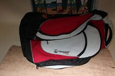 "Navigare Overhead Wheeled Travel Bag ‑ approx. 22 x 16"" soft sided - v. clean"