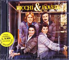 RICCHI E POVERI | Raro CD SIGILLATO 1989  | SIGLA TV Sanremo | Marina OCCHIENA