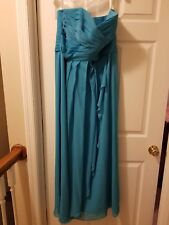 Malibu bridesmaid wedding dress size 14 that has been worn once