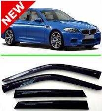 For BMW 5 Sd F10 Window Visor Rain Guard Shade Wind Sun Deflector 2011-2016