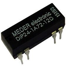 Meder dip24-1a72-12d Relais 24v 1xein 2000 Ohm dip Reed Relay con diodo 047153
