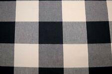 Black Ivory Buffalo Check Jet Pkaufmann Fabric