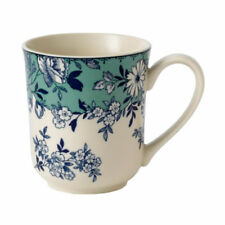 Stoneware Green Pottery Mugs