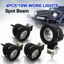 Safego 4 X 10W CREE LED Work Light Bar Spot Truck Boat 4X4 Reverse Driving Lamp