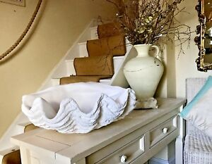 Giant Clam Shell Sculpture A Piece Of My Art Ornament Home Decor Bowl A Gift
