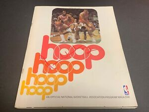 Norm Van Lier Chicago Bulls Autographed Signed Hoop Magazine Program Feb 1977