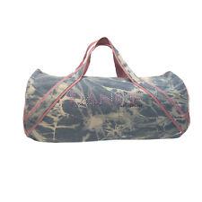 Girls Washed Denim Large Duffel Bag
