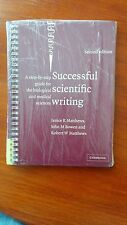 Successful Scientific Writing: A Step-By-step Guide for Biomedical Scientists