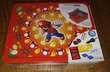 NINTENDO DS Lite Starter Kit Lunchbox Tin super mario bros rare - NIB - HTF!