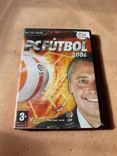 PC Fútbol 2006, Juego PC, Disco Como Nuevo, Gestión deportiva, Español.