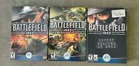 """PC game """" Battlefield"""" - set of 3 classic games: 1942, Road to Rome, SW of WWII"""