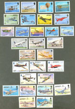 Jersey-Aviation-Six sets special price mnh-complete 1973-1993-Aircraft