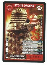 Doctor Who Monster Invasion 3D Super Rare Card 252 Stone Daleks Good+ Condition