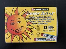 Sakura Cray-Pas Junior Artist Student Quality Oil Pastels 12 Colors