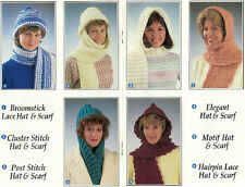 Crochet Ladies Hats and Scarves Pattern Booklet