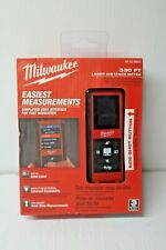 Milwaukee 48 22 9803 330 Laser Distance Meter New