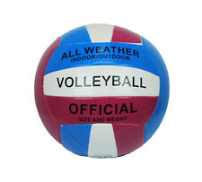 Volleyball Ball Soft Official Olympic Indoor Outdoor Size 5 Blue Pink NEW