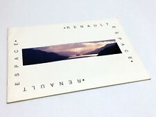 1994 Renault Espace Brochure - French