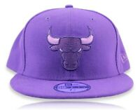 NBA New Era Chicago Bulls All Purple 59fifty Fitted Size 7 5/8