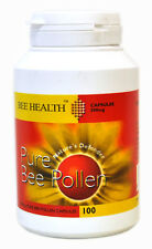 1 Bottle Bee Health Pure Bee Pollen 100 Capsules 500 mg PROPOLIS