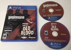 Wolfenstein: The Two Pack (The New Order, The Old Blood): Sony PlayStation 4 PS4
