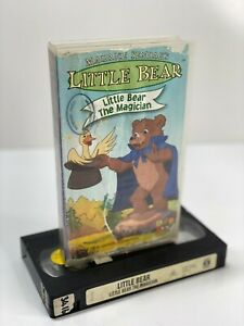 LITTLE BEAR 'THE MAGICIAN' ~VHS VIDEO PAL~ A RARE FIND - CLASSIC ABC KIDS 1990S